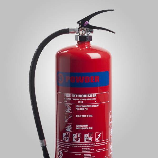 image of a fire extinguisher