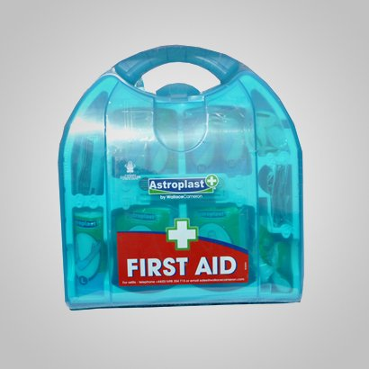 First Aid Kits Blue Box