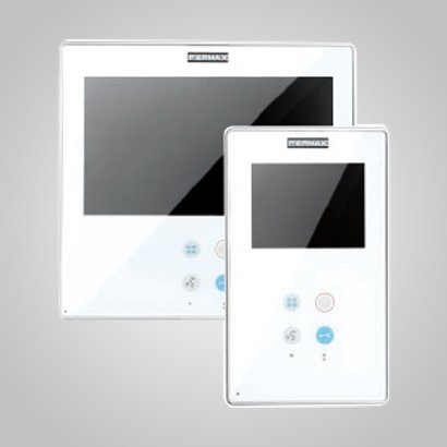 Intercom White Panel